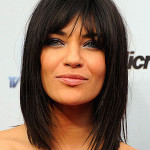 coiffure carre degrade brune