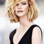 coiffure carre degrade ondule