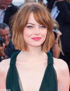 coiffure carre degrade pour visage rond
