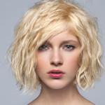 coiffure carre ondule femme