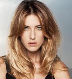 coiffure cheveux degrades longs