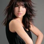 coiffure degrade brune