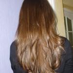 coiffure degrade derriere