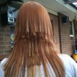 coiffure degrade en pointe