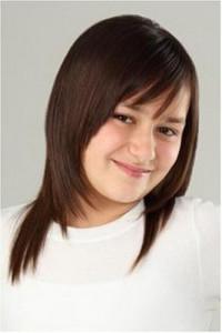 coiffure degrade petite fille