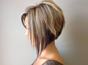 coiffure degrade plongeant