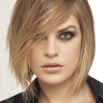 coiffure femme carre destructure
