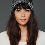coiffure foulard frange