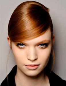 coiffure frange bandeau