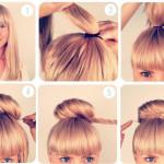 coiffure frange facile a faire