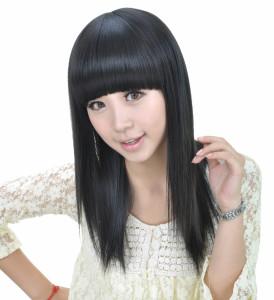 coiffure frange japonaise