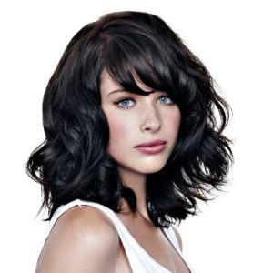 coiffure frange simulation