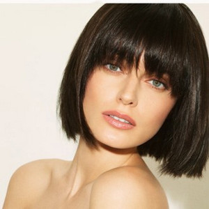 coupe carré frange cheveux fins