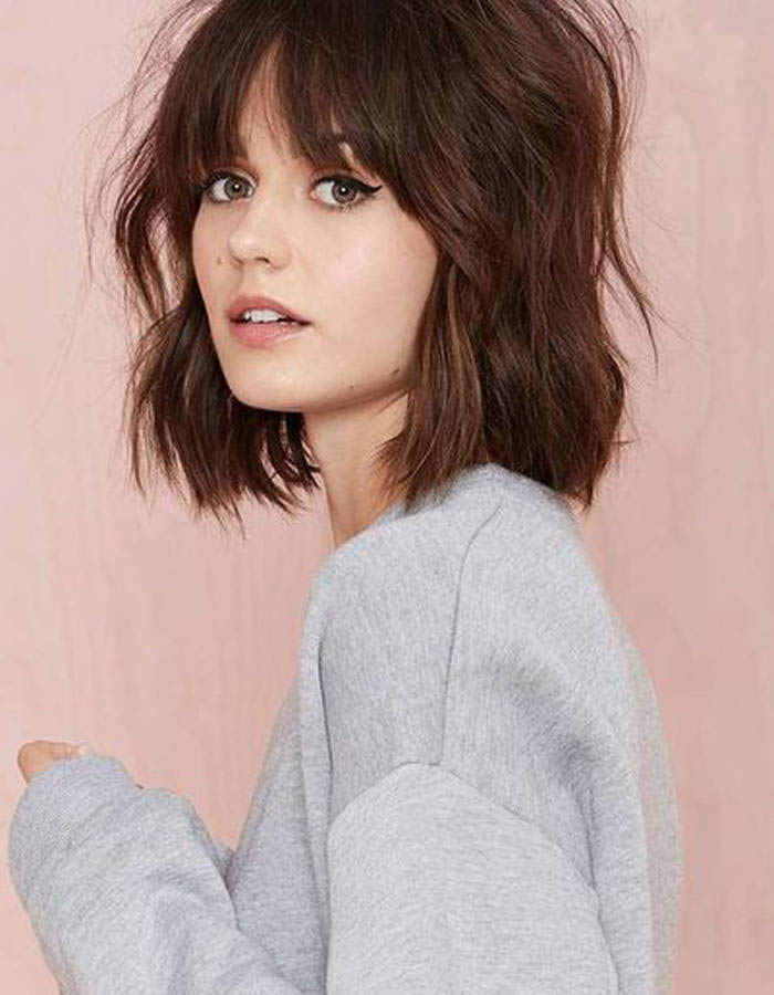Coupe carre tendance 2016 femme - Photo coupe carre ...