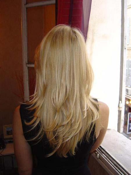 Coiffure degrade devant et derriere - Degrade femme mi long ...
