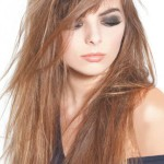 coupe cheveux degrade femme long