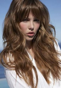 coupe cheveux long degrade sauvage