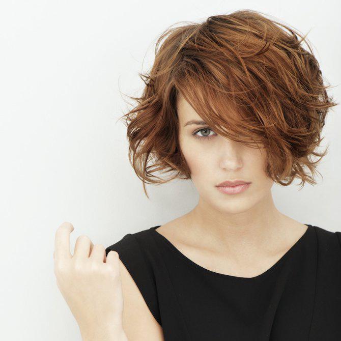 coupe de cheveux carre destructure