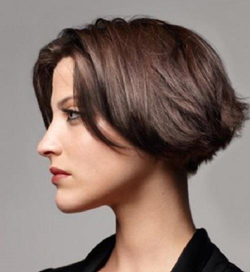 coiffure carre en elevation