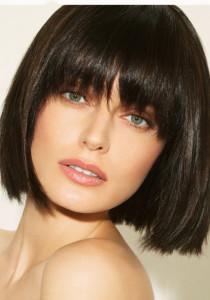 coupe de cheveux carre et frange