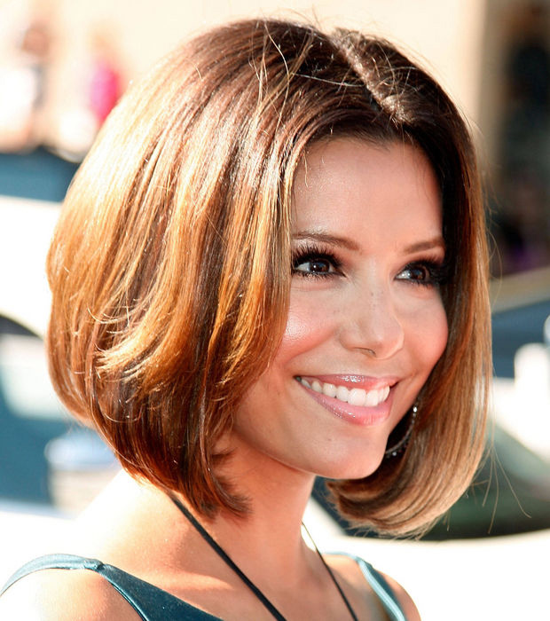 coupe de cheveux carre eva longoria. Black Bedroom Furniture Sets. Home Design Ideas