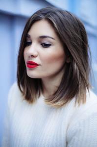 coupe de cheveux carre long cheveux epais