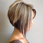 coupe de cheveux carre plongeant degrade