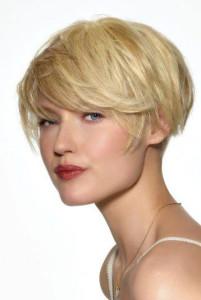 coupe de cheveux court carre boule