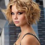 coupe de cheveux femme carre frise