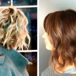 coupe de cheveux femme carre plongeant boucle