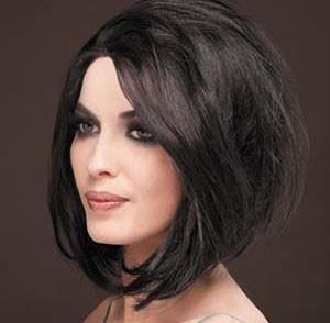 coupe de cheveux femme degrade visage rond