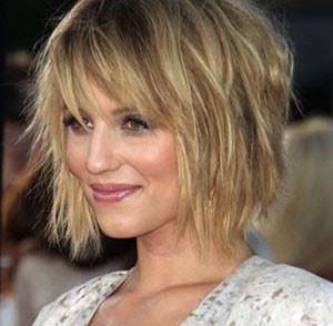 coupe de cheveux fins frange