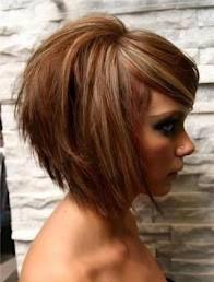 coupe de cheveux tendance carre plongeant