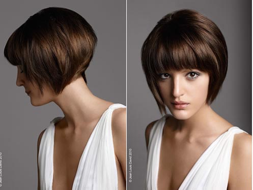 Modele coiffure femme carre plongeant - Modele carre court ...